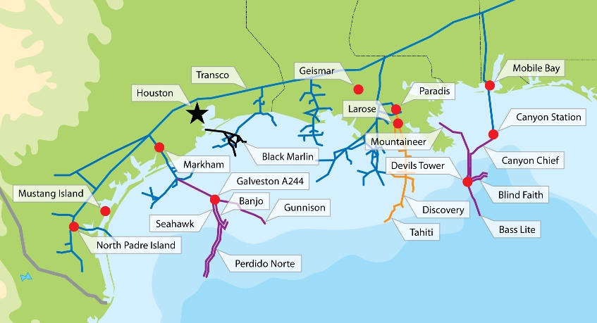 Gulf Of Mexico Natural Gas Production