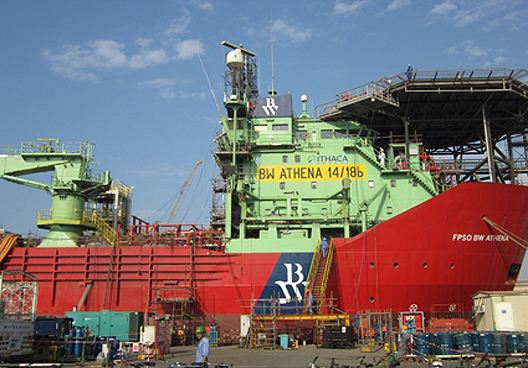 UAE: FPSO BW Athena Leaves DryDocks World Dubai